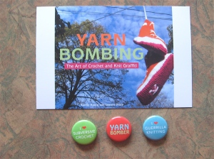 yarn bombing buttons
