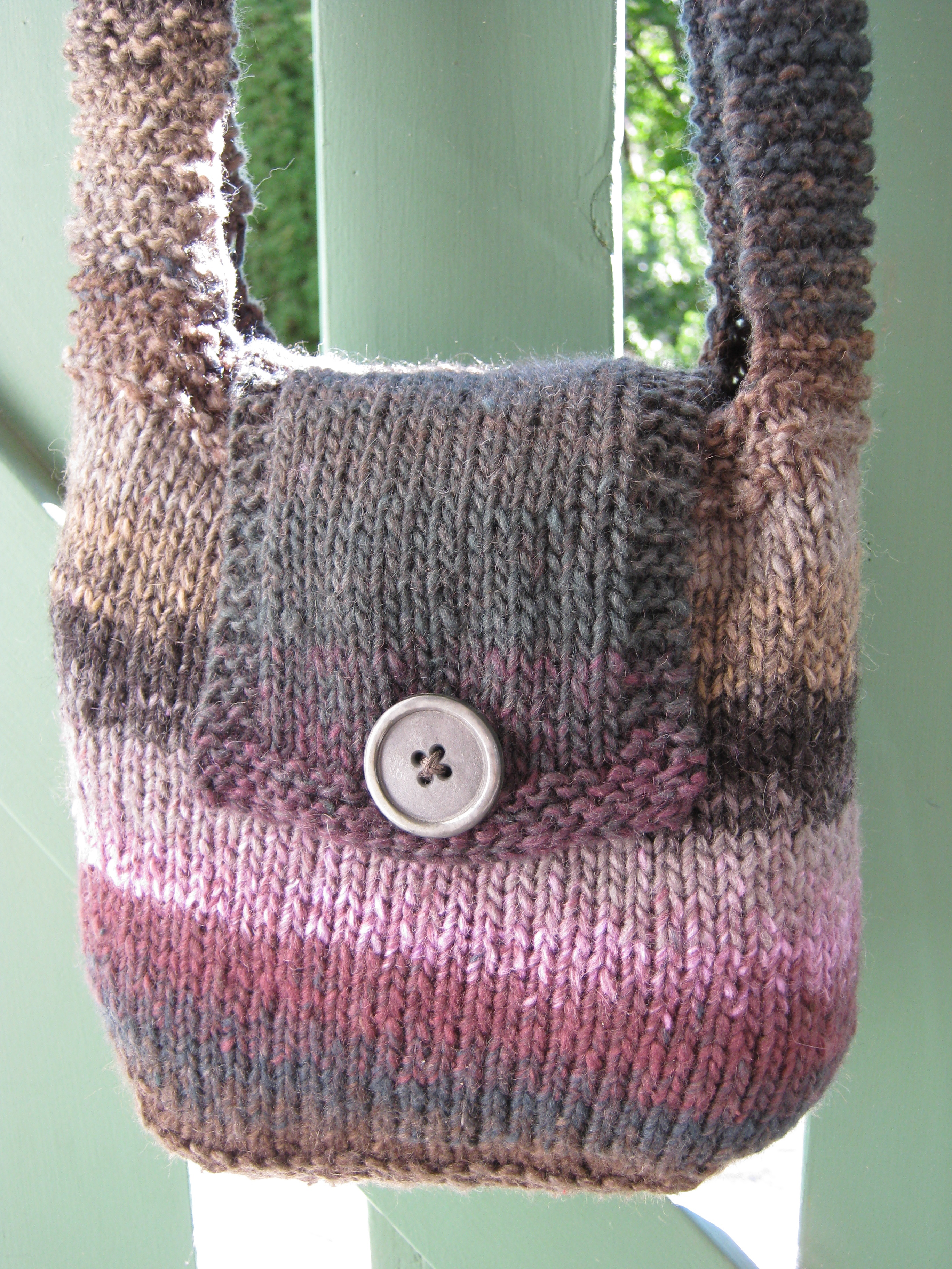 Barbaras bag pattern nicola knits share this bankloansurffo Gallery