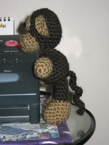 9 free amigurumi monkey patterns: Happy Chinese New Year ... | 300x225