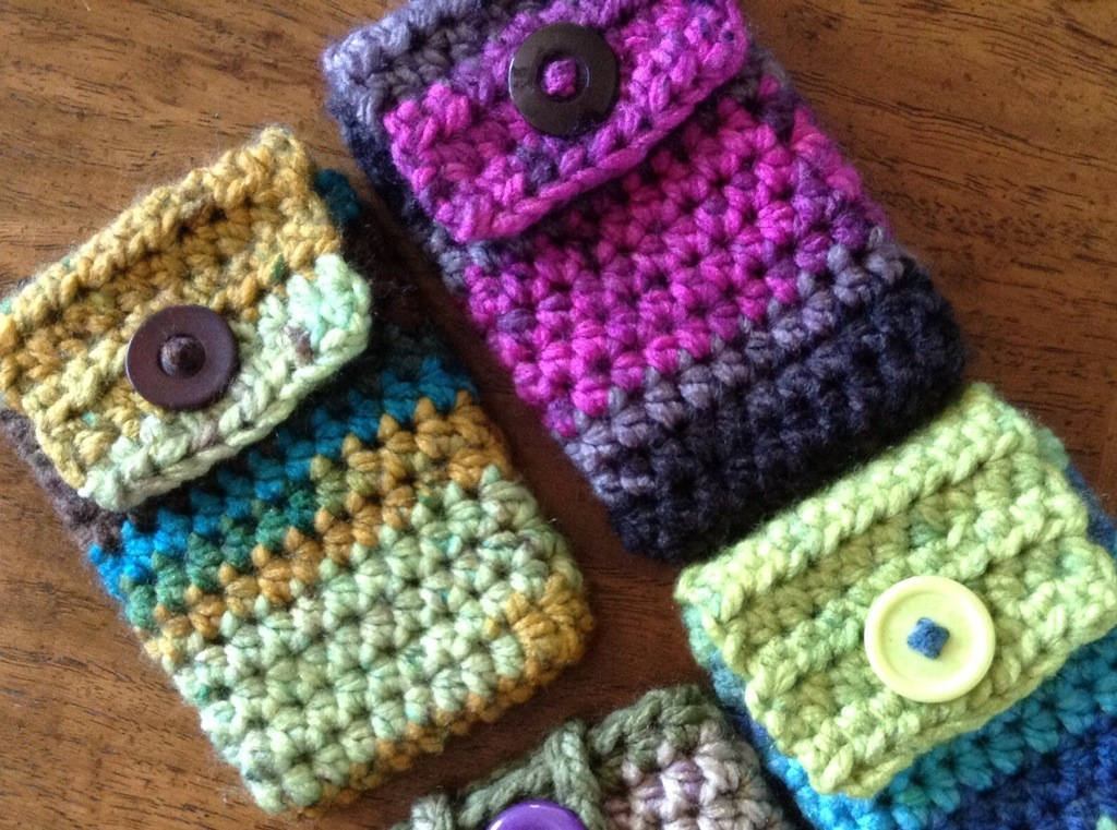 Free Pattern Charismatic Cellphoneipod Cosy Nicola Knits