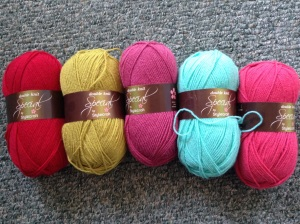 First batch of Stylecraft Special DK