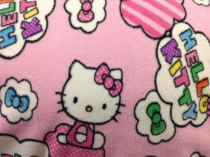 Bonus! Remnant from work. More Hello Kitty!