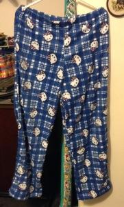 Finished pyjamas