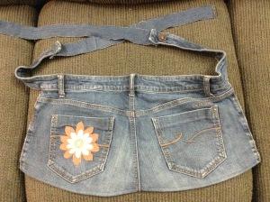 Jeans butt apron!
