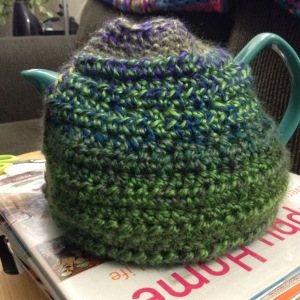 Rather lumpy teacosy