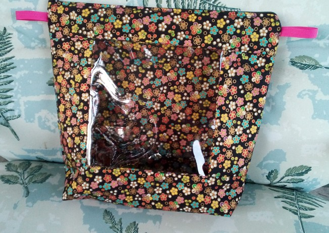 floral window bag