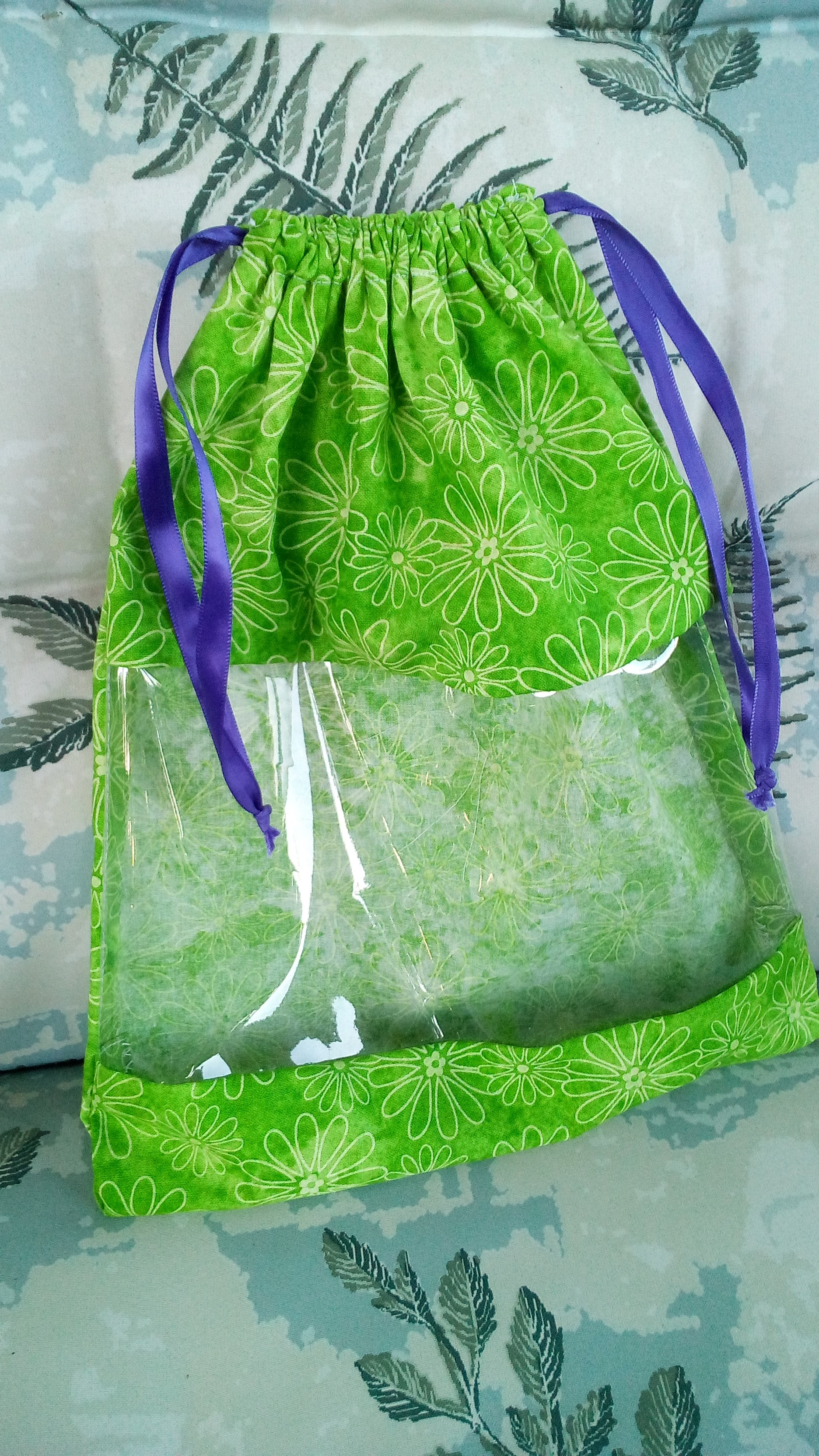 green window bag